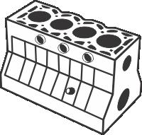 Recuperação de blocos de motor