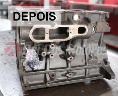 Solda de Bloco do Motor Citroen Jumper depois